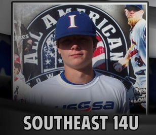 Kelton Hall was named to the USSSA Southeast 14U All-American Regional Team and will compete in Orlanda, FL.