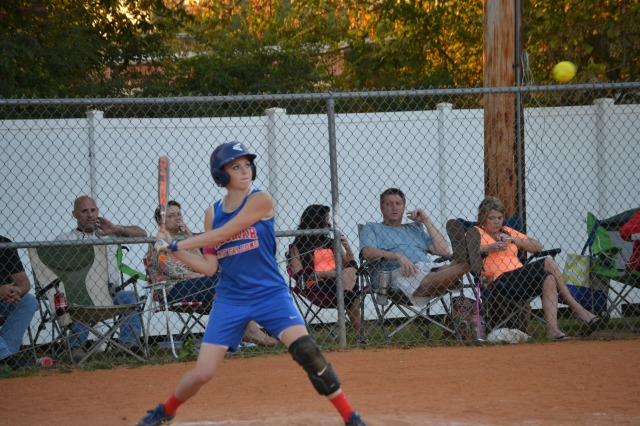 Gara Beth Self was 4 for 4 and drove in three runs for Ingomar on Tuesday. Photo by Dennis Clayton.