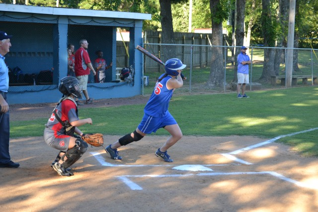 Lauren Thompson led Ingomar offensively with her two doubles and two RBIs on Tuesday. Photo by Dennis Clayton.