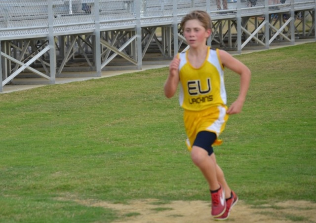 Micah Fulgham of East Union is the 2015 Union County Junior High Boys Champion.