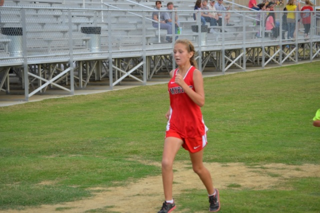 Jessica Pickens of Myrtle is the 2015 Union County Junior High Girls Champion.