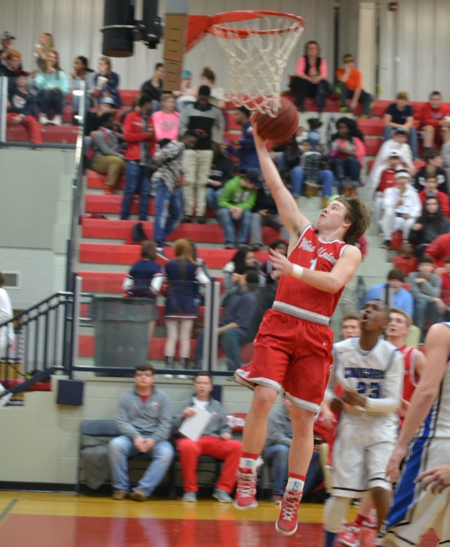 Hayden Basil had a big night for the Eagles with his 20 points.